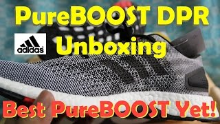 unboxing adidas pureboost dpr og colorway may 2017