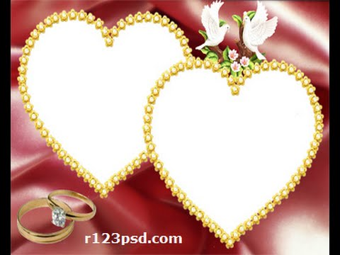 Wedding photo frames 35 Boda marcos Casamento quadros