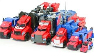 Transformers Robots in Disguise Optimus Prime Vehicle Truck Robot Car Toys 트랜스포머 어드벤처 옵티머스프라임 장난감 변신