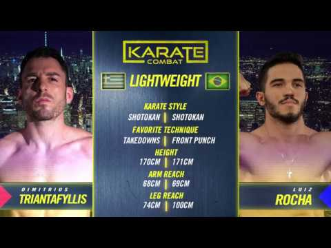 Karate Combat: One World - Luiz Rocha vs Dimitris Triantafyllis