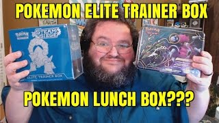 Steam Siege Elite Trainer Box PLUS Pokemon LUNCHBOX?