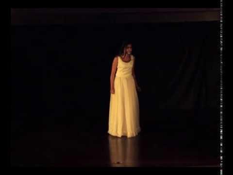 Monologo de Laurencia en el Marco del XIII Festival de Teatro Univesitario
