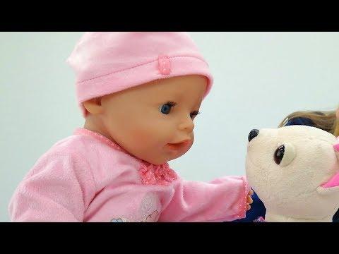 """Giochi per bambini. Bambola Nenuco. Video con i bambini """"Come Mamma"""""""
