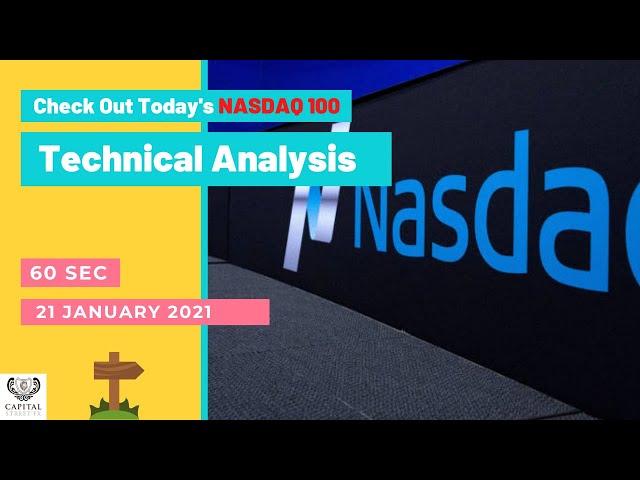 60 Seconds NASDAQ 100 Technical Analysis | Change Your Strategy | Capital Street FX | 21 Jan 2021