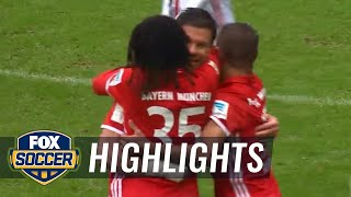 Video Gol Pertandingan FC Bayern Munchen vs Ingolstadt