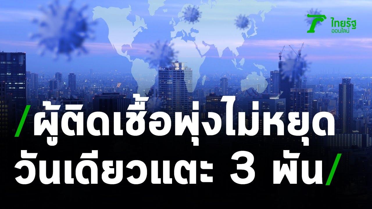 สถิติใหม่ติดเชื้อสูงสุด-ตายมากสุดใน 1 วัน | 25-04-64 | ข่าวเช้าไทยรัฐ เสาร์-อาทิตย์