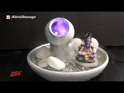 Table Top Waterfall / Fountain  with mist maker | DIY How to make | JK Arts 885