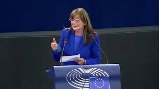 Intervento dell'europarlamentare Patrizia Toia durante la Plenaria a Strasburgo sullo stato dell'unione delle PMI