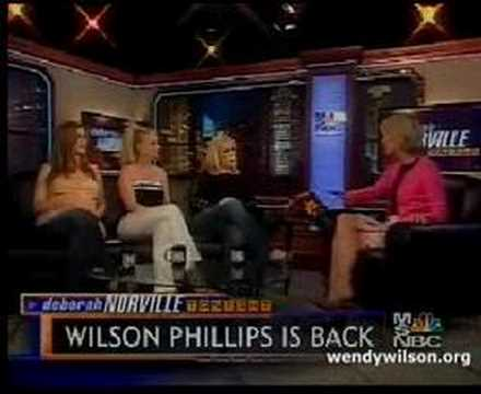 Wilson Phillips interview 29 June 2004