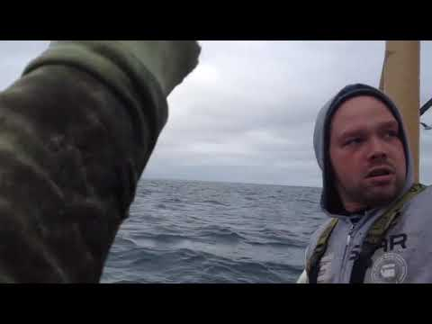 Don Action Jackson - Fishermen Save Crew Off Another Boat Just As It Sinks