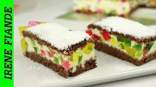 Самый вкусный прохладный желейный торт