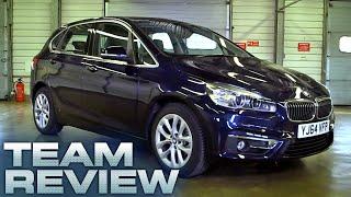 BMW 2 Active Tourer 218d Luxury Team Review Fifth Gear