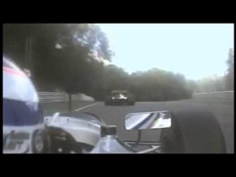 A1 GP - Mathias Lauda crashes Brands Hatch 2005
