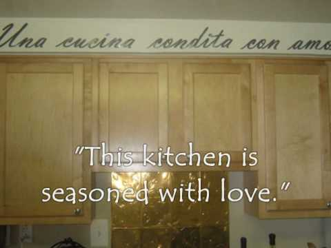 My tuscan kitchen on a budget youtube for Tuscan kitchen ideas on a budget