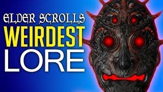 The Weirdest Lore in the Elder Scrolls Series