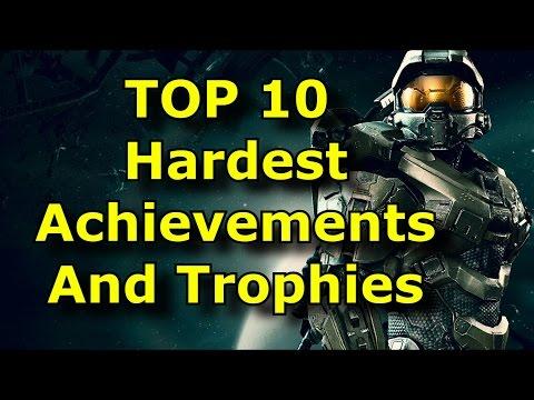 TOP 10 Hardest Achievements and Trophies!