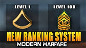 New Ranking System in Modern Warfare (MW Leaks)
