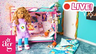 🔴  Spooky Halloween Fun 🎃 w/ Courtney 1986 | @American Girl
