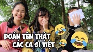 Đoán tên thật các ca sĩ Việt | Nhổn TV