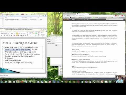 Amazon Kindle eBook Maker (Free Download and convert to PDF using AutoHotKey Script)
