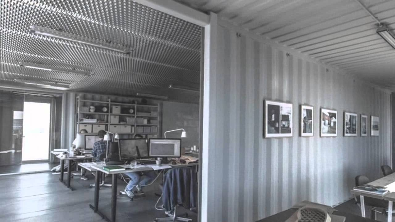 Arcgencyu0027s Shipping Container Offices In Copenhagen Are Made To Be Moved