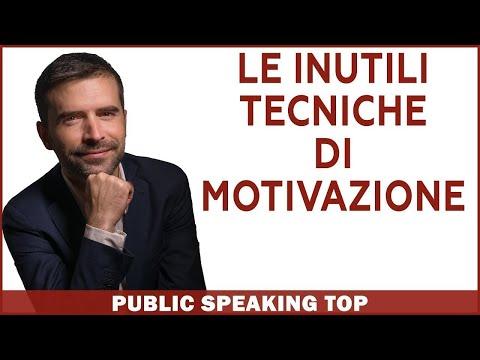 Immagine per Perché le tecniche di motivazione NON ti servono per vincere la paura di parlare in pubblico