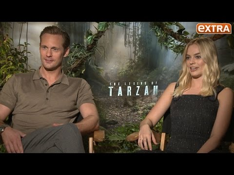 Alexander Skarsgård & Margot Robbie Talk Animalistic, Punching Sex Scene in 'Tarzan'