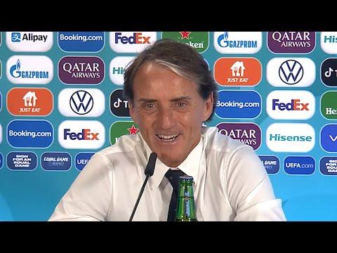 Turkey 0-3 Italy - Roberto Mancini - Post-Match Press Conference - Euro 2020 (English)