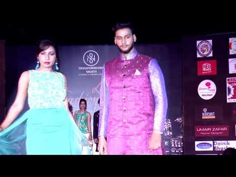 designer ashish verma lko fashion week festival 2017 show director sunny mishra indo western collect