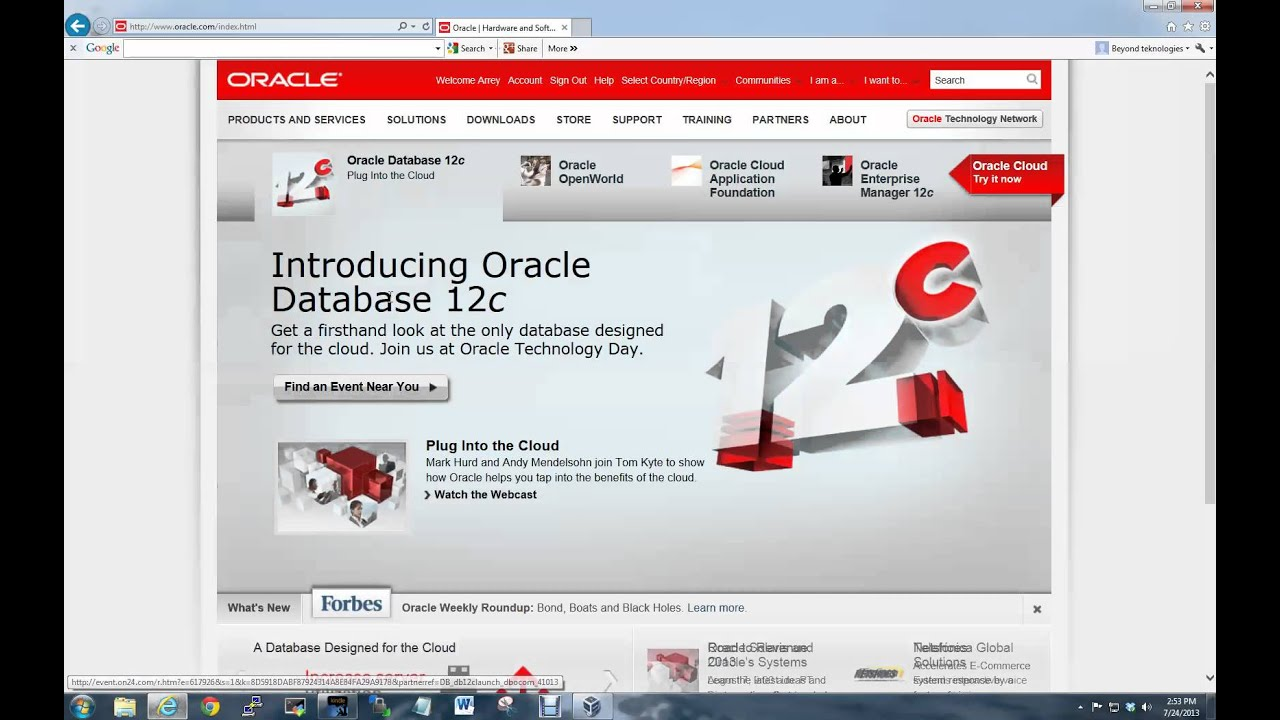 How to Register With Oracle and Download Solaris 10