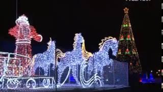 В Самаре на площади Куйбышева стартовал показ светового 3D-шоу
