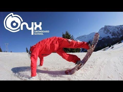 Tripod Flatland Trick - Freestyle Snowboard Lesson Tutorial