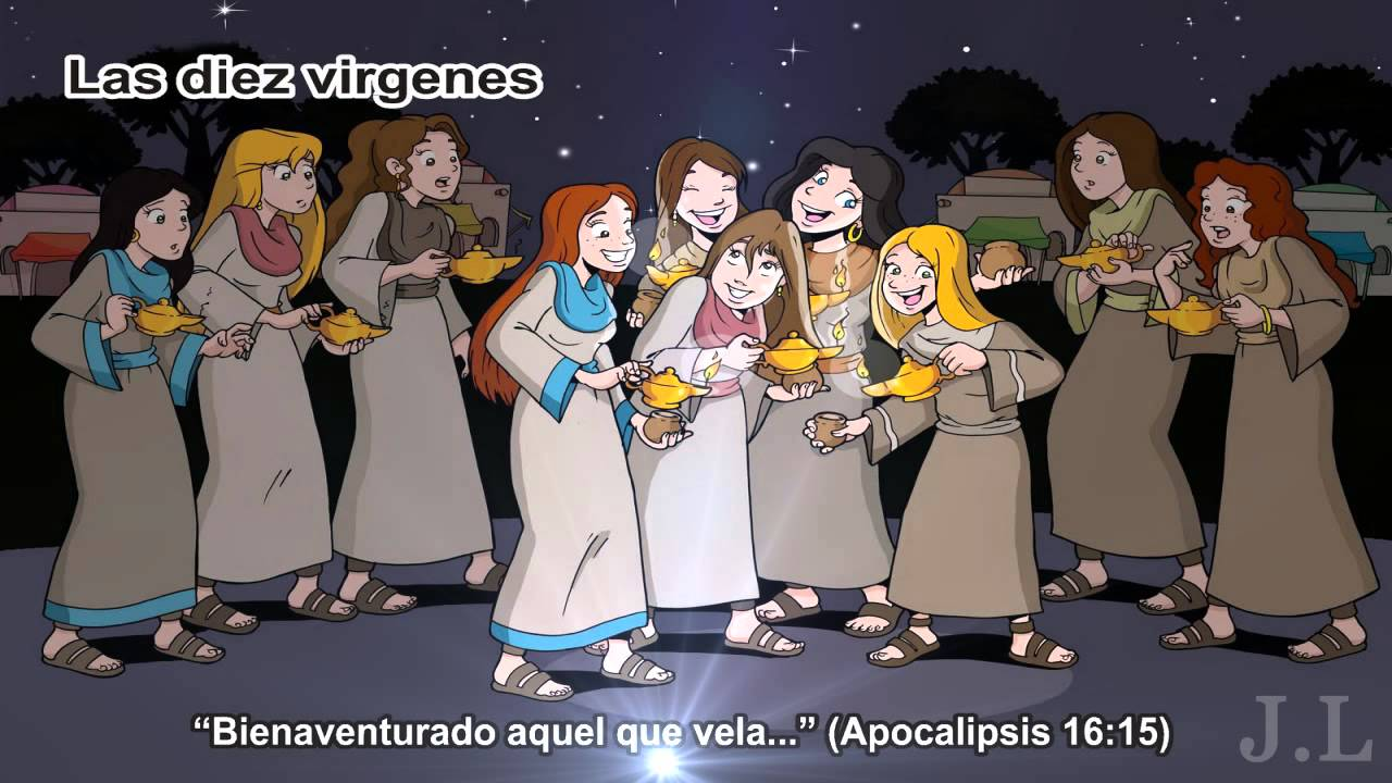 Resultado de imagen de parabola de la diez virgenes