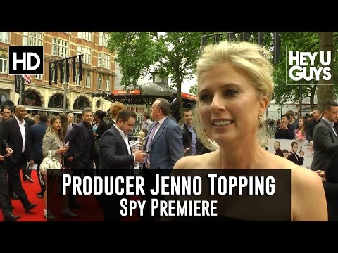 Producer Jenno Topping Interview - Spy Premiere fragman