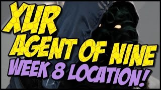 Xur Agent of Nine! Year 2 Week 8 Location, Items and Recommendations!
