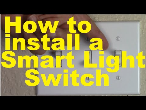How to Install a Smart Light Switch