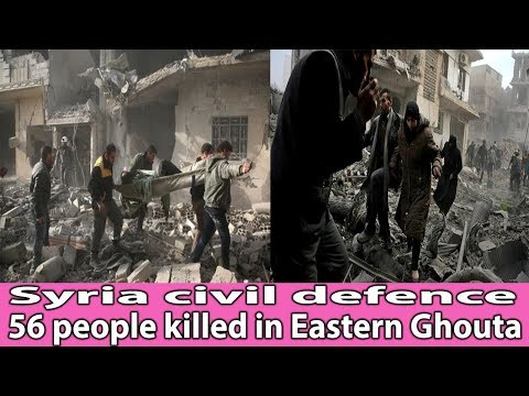 Syria civil defence: 56 people killed in Eastern Ghouta || World News Radio