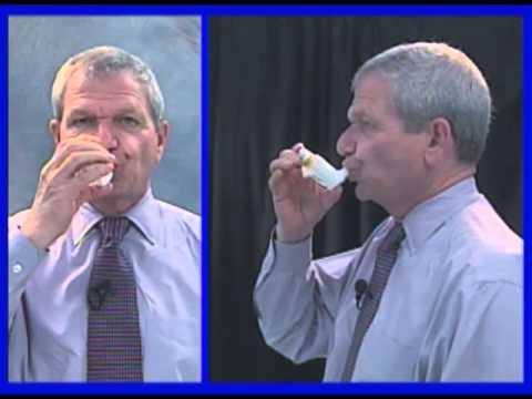 Use Of Hfa Albuterol Inhaler Youtube