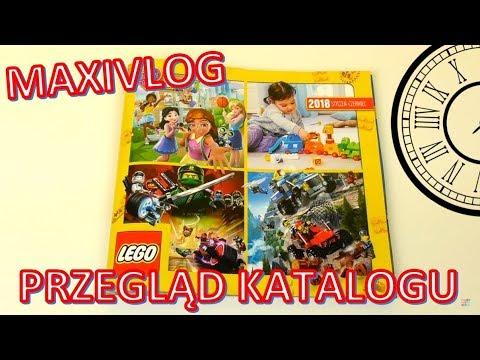 Katalog Lego 2018 Styczeń Czerwiec Maxivlog Youtube