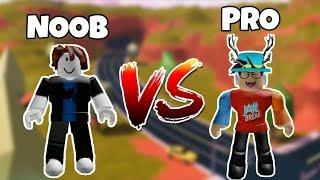 NOOB vs PRO - Jailbreak - Roblox