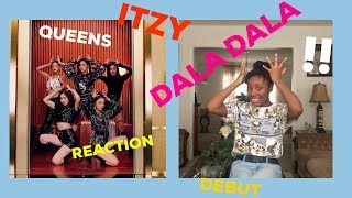 {REACTION} ITZY - DALLA DALLA || Girl Crush?! JYP?? Debut?!
