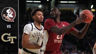 Florida State vs. Georgia Tech Basketball Highlights (2018-19)