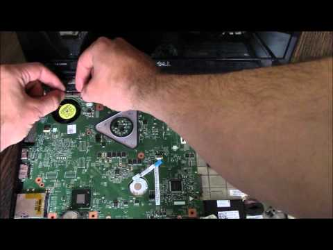 How To Fix A Dell Laptop White Screen / 8 Beeps When Powering On