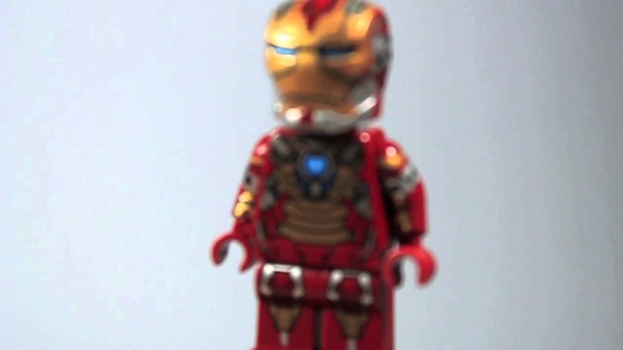 "Custom LEGO Upgraded Iron Man 3 Mark 17 ""Heartbreaker ..."