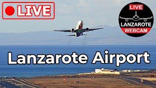Lanzarote Webcam 🔴 Live HD video stream from Lanzarote Airport ACEGCRR Canary  slands Spain