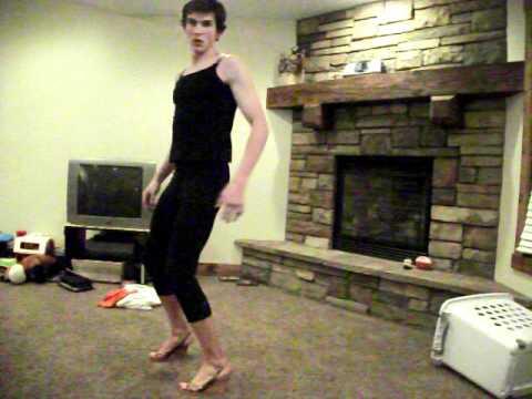 gay man single ladies dance