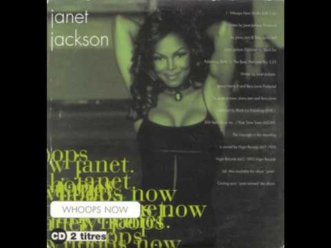 JANET JACKSON whoops now 1993