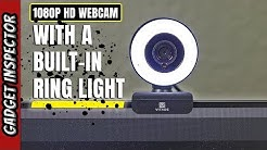 1080p Webcam with a Ring Light   Any Good?