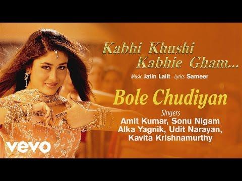 Bole Chudiyan Best Song - K3G Amitabh Shah Rukh Khan Hrithik Kajol Kareena Alka Yagnik