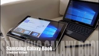 Samsung Galaxy Book 12 inch and 10 inch tablets blogger review